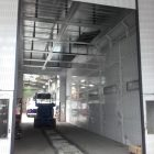 COMMERCIAL VEHICLE BOOTH INSTALL