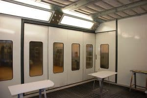 industrial spray booths for sale