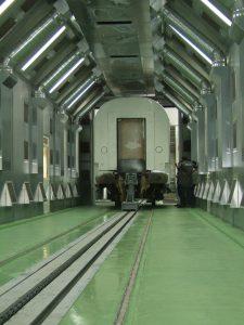 Rail Vehicle Painting