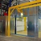 PAINT PLANT WITH CONVEYOR