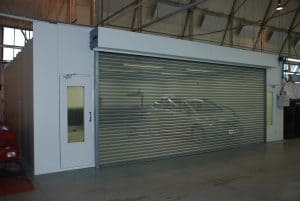 automotive spray booth