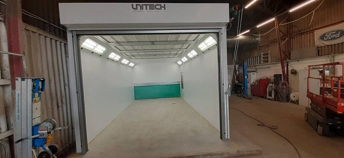 Vehicle Repair Spray Booth