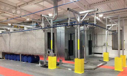powder coating facility